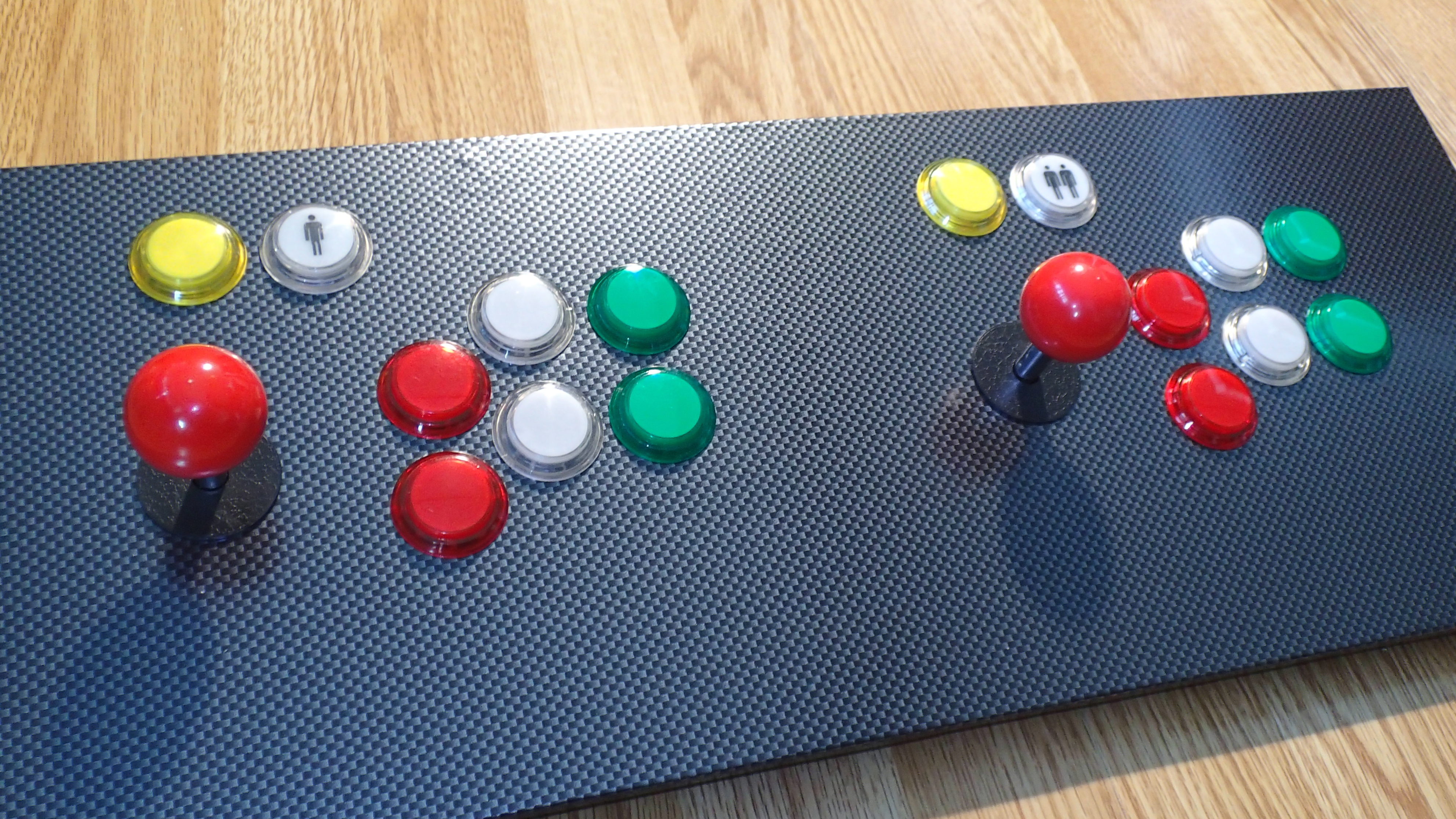 Bartop Arcade Cabinet - Part 4: Control Panel | ezContents blog