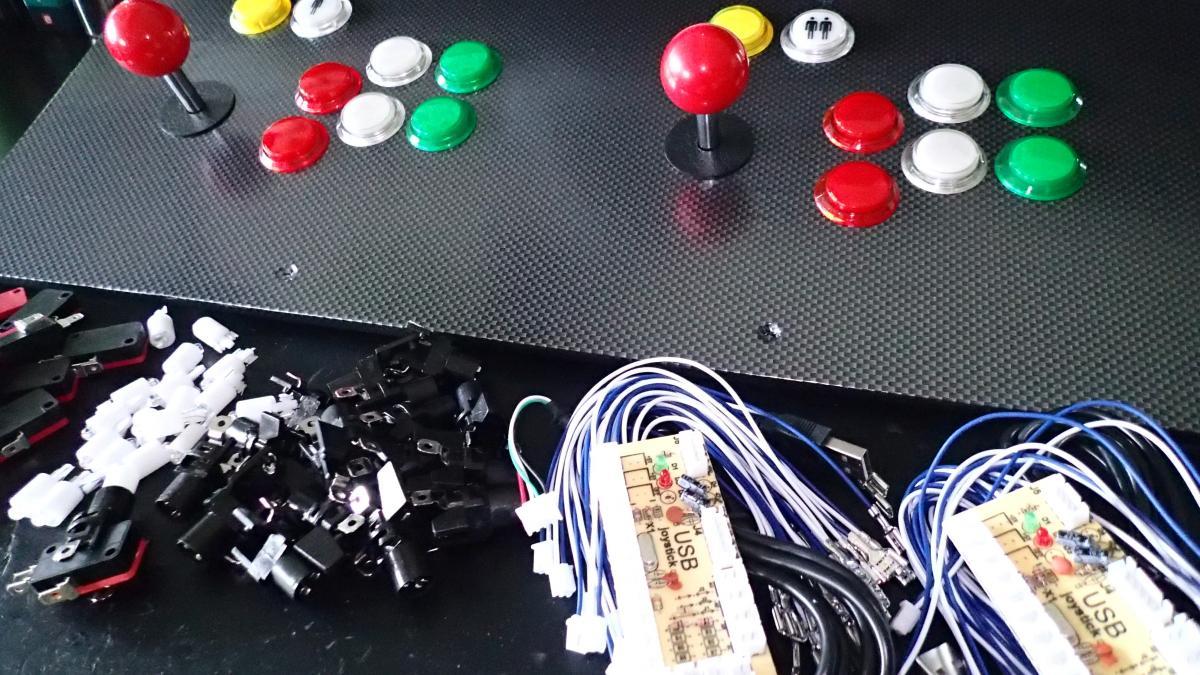 Bartop Arcade Cabinet - Part 4: Control Panel   ezContents blog