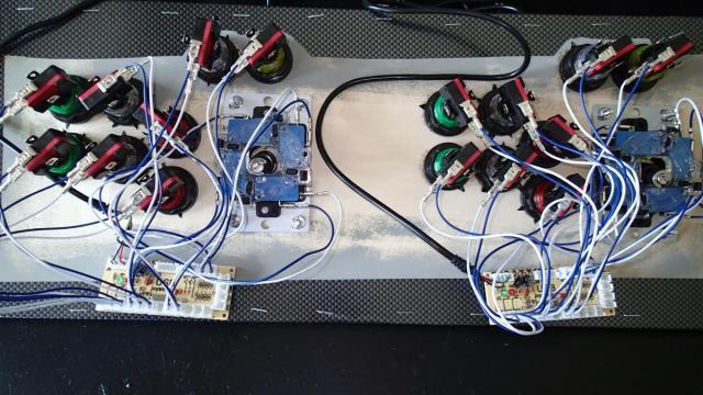 Bartop Arcade Cabinet - Part 4: Control Panel | ezContents blog