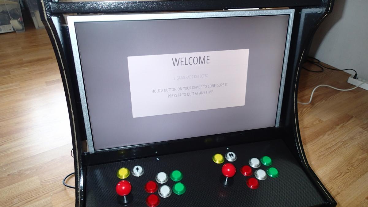 Bartop Arcade Cabinet Part 4 Control Panel Ezcontents Blog