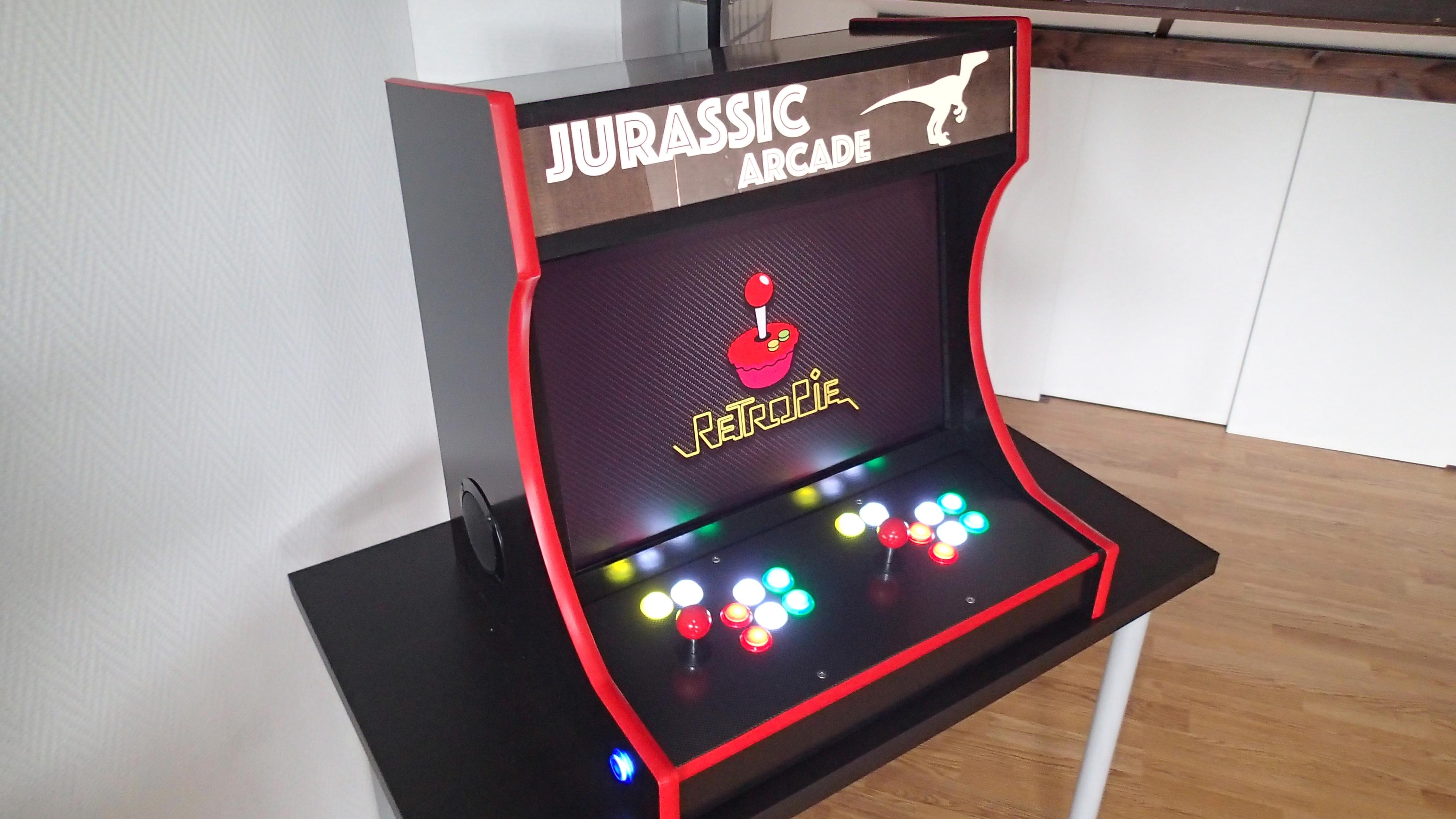 Bartop Arcade Cabinet Part 1 Design Ezcontents Blog
