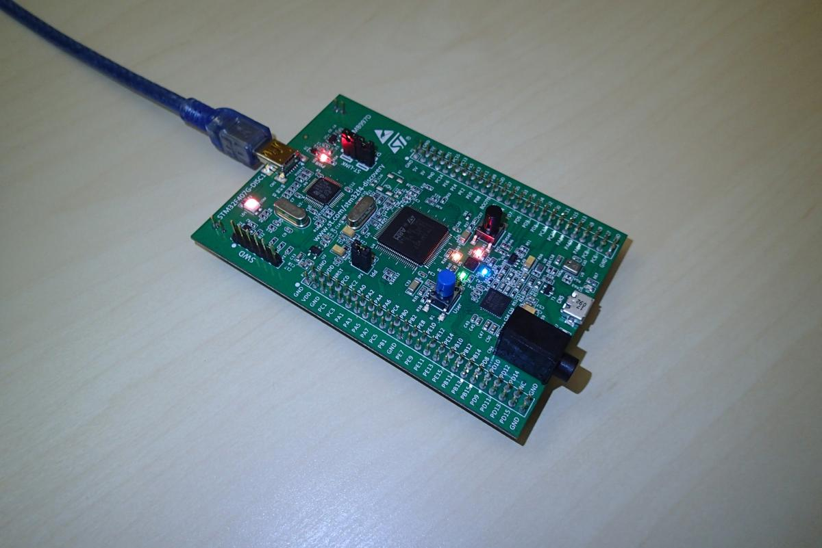 STM32F4 Discovery Blink LED on OSX | ezContents blog