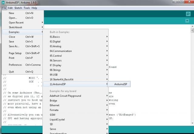 Programming ATmega328P Barebone | ezContents blog