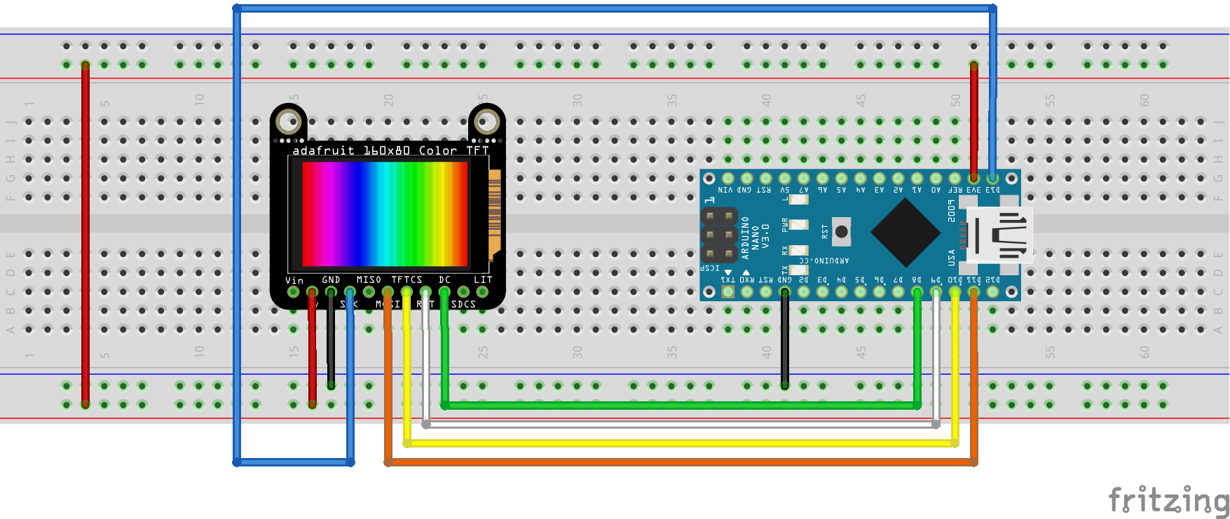 Small IPS Color Display with Arduino Nano | ezContents blog