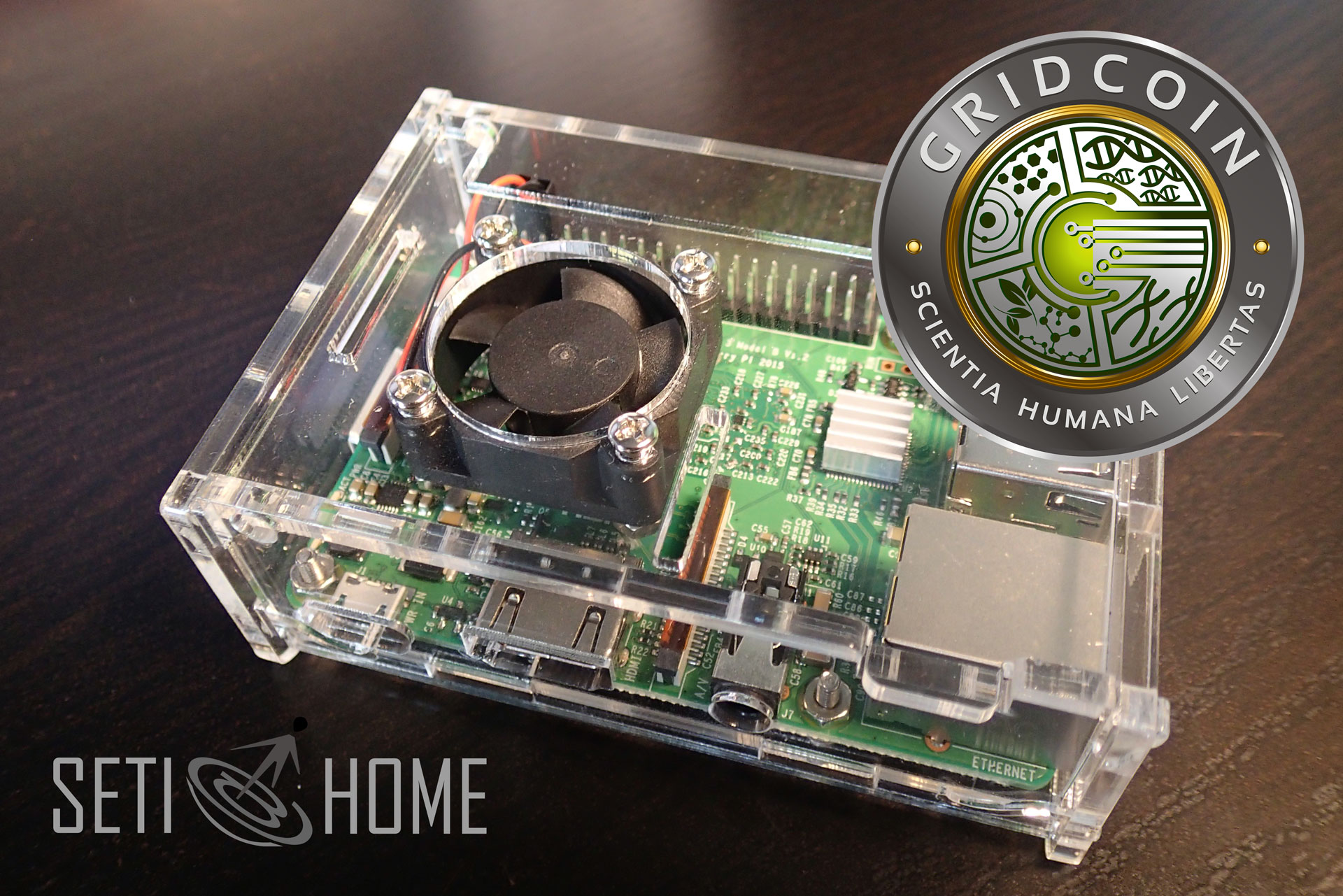 Mining Gridcoin with Raspberry Pi | ezContents blog