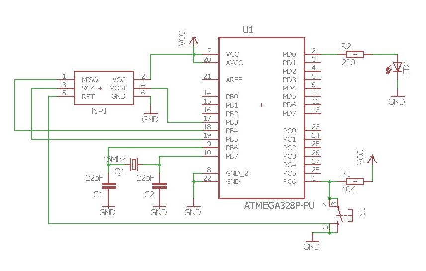 Arduino Nano Schematic For Eagle - Circuit Boards