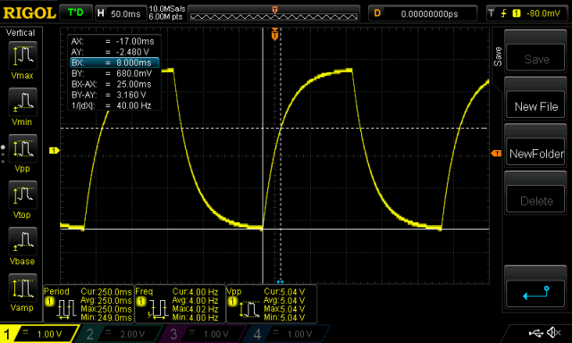 Measuring capacitance with an oscilloscope | ezContents blog