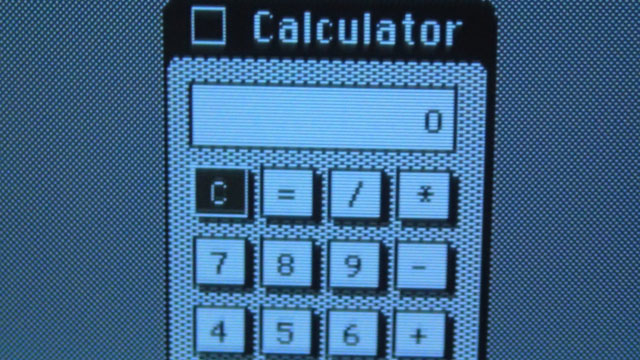 Calculator App - C key