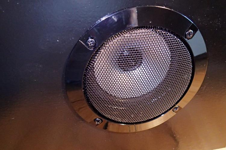 Speakers with cover