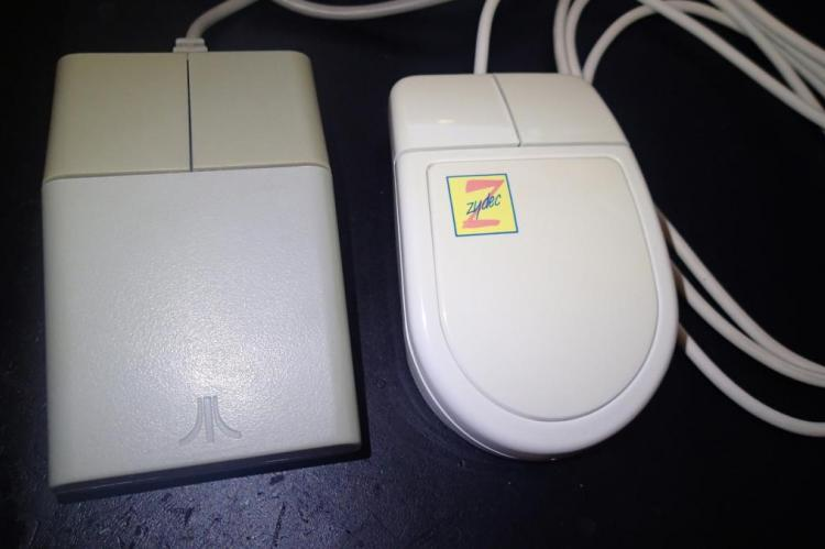 Amiga / Atari ST Zydec mice after retr0bright