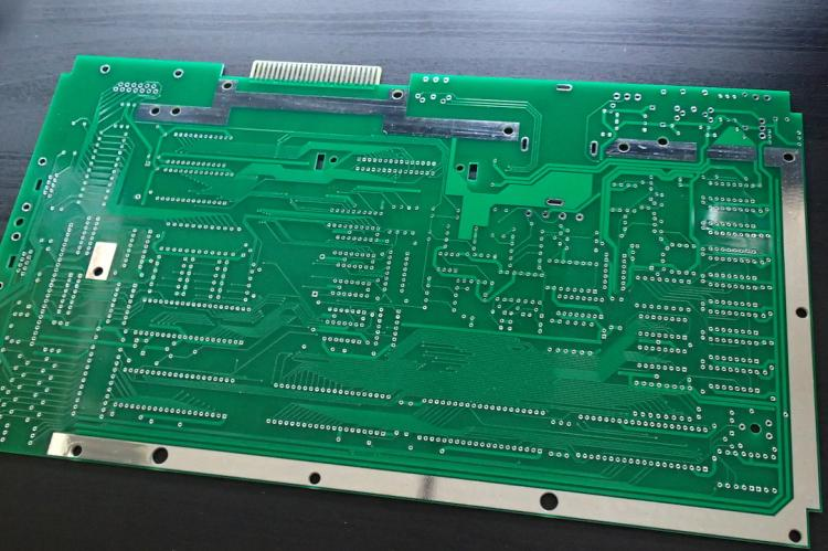 Atari 800XL PCB remake - back