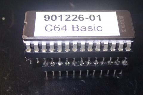 BASIC ROM chip EPROM version