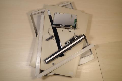 Canon CanoScan FB330P disassembled