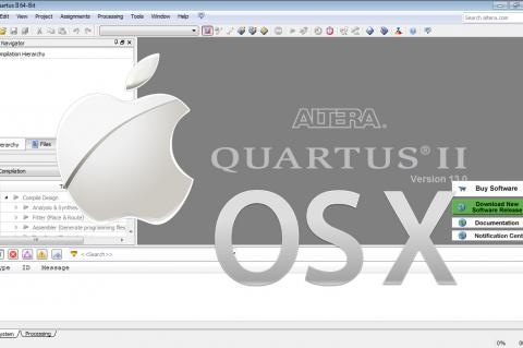 Altera Quartus II on Mac OSX